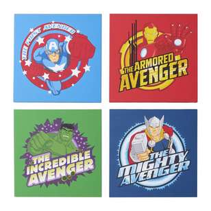 Impact Posters License Canvas Avengers 4Pk