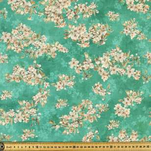 Cherry Blossom Digital Printed 135 cm Lawn Fabric