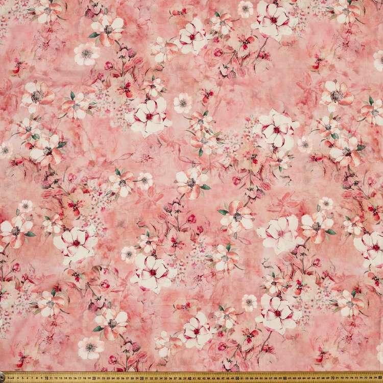 Poppy Digital Printed 135 cm Lawn Fabric