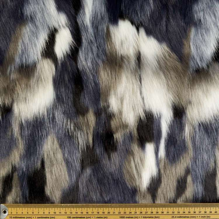 Designer Faux Fur Fabric