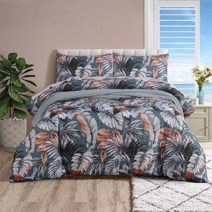 KOO Waiheke Quilted Quilt Cover Set
