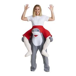 Spartys Ride On Shark Adult Costume
