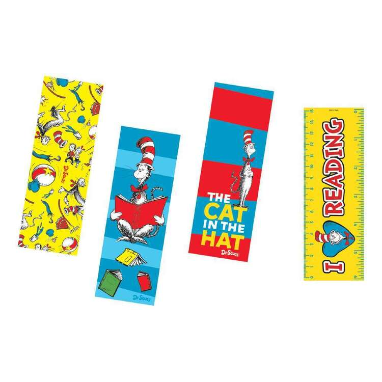 Dr. Seuss Bookmarks 12 Pack