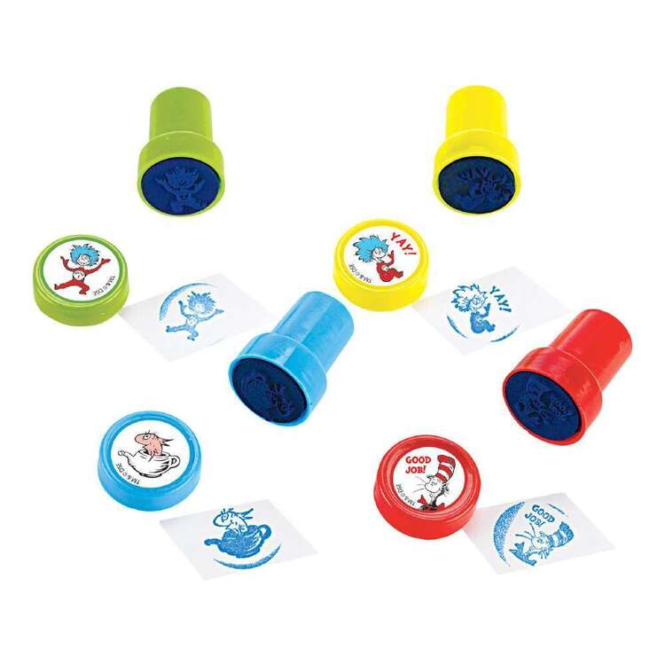 Cat In The Hat Stamps 6 Pack