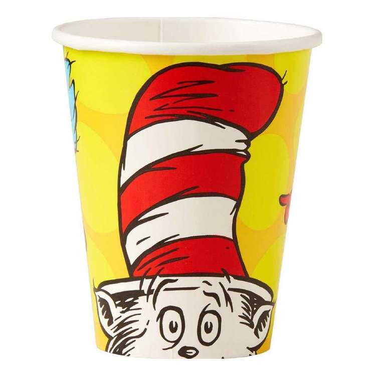 Dr. Seuss Paper Cups 8 Pack