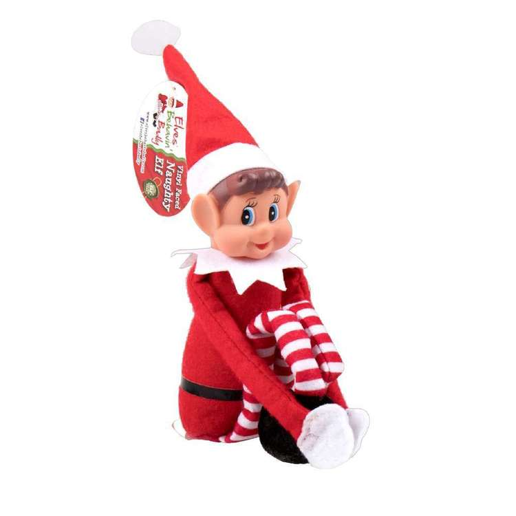 Elves Behavin' Badly Elfie Naughty Elf Red