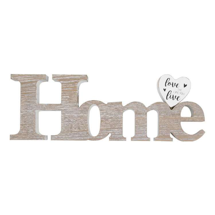 Living Space Ls Typo Deco 'Home'