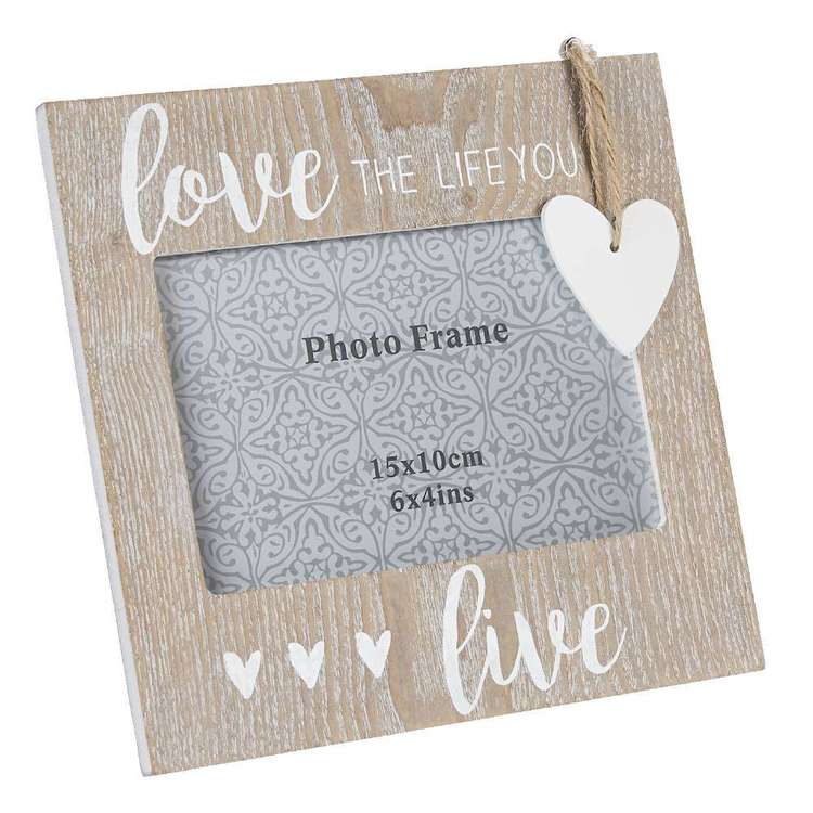 Living Space Love Photo Frame