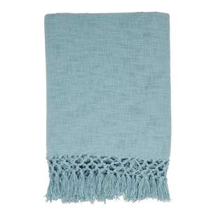 Ombre Home Boho Bloom Slub Knit Throw