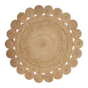 Ombre Home Boho Bloom Jute Rug