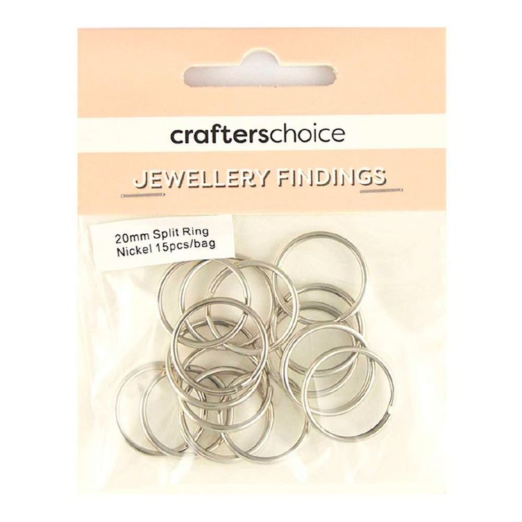 Crafters Choice Split Ring 15 Pack