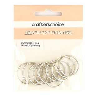 Crafters Choice Split Ring 10 Pack
