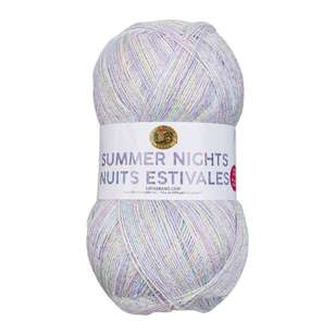 Lionbrand Summer Nights Acrylic And Polyester Blended Yarn