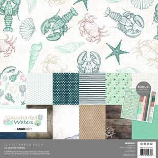 Kaisercraft Uncharted Waters Paper Pack