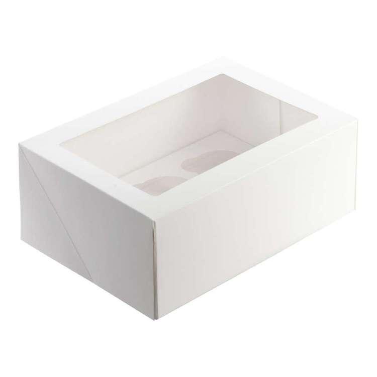 Mondo 6 Hole Cupcake Box