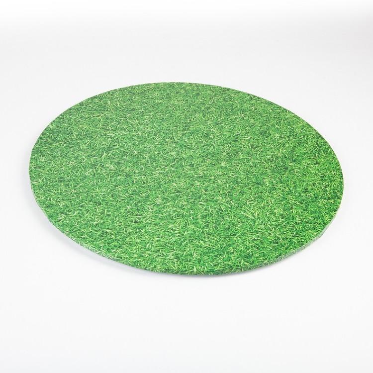 Mondo Round Grass Cake Board