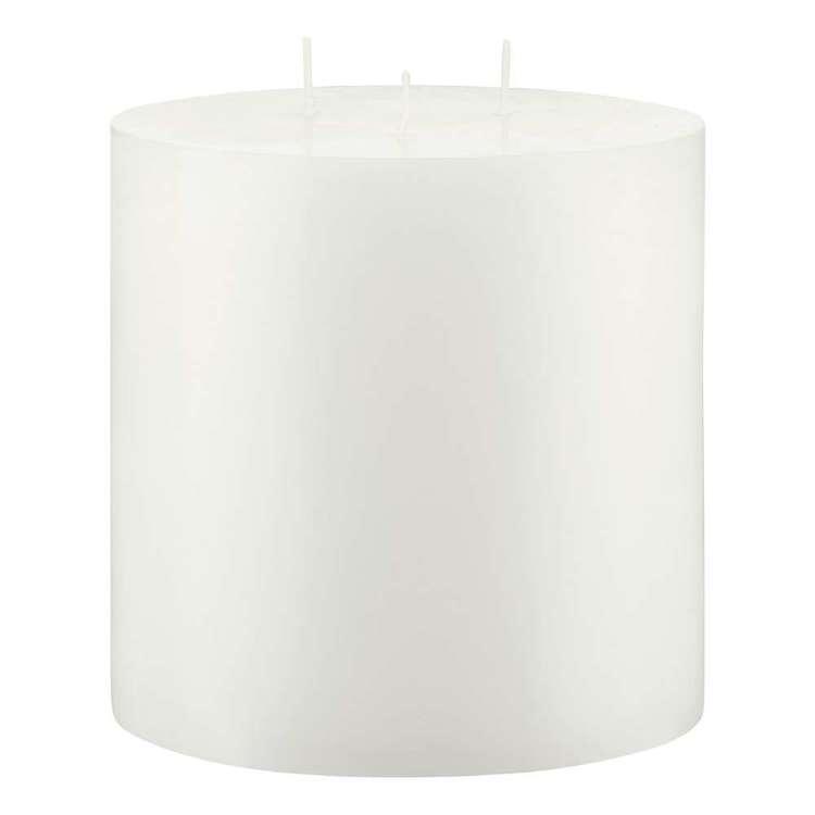 Bouclair Naturalistic Living 3 Wick Pillar Candle