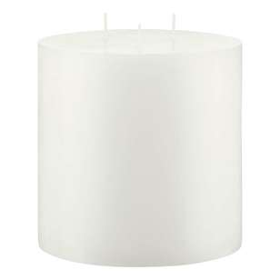 Bouclair Naturalistic Living 3 Wick Pillar Candle