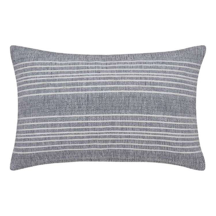 Bouclair Naturalistic Living Nieve Cushion Grey & White 53 x 35 cm