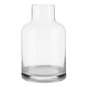 Bouclair Naturalistic Living Glass Bottle Vase