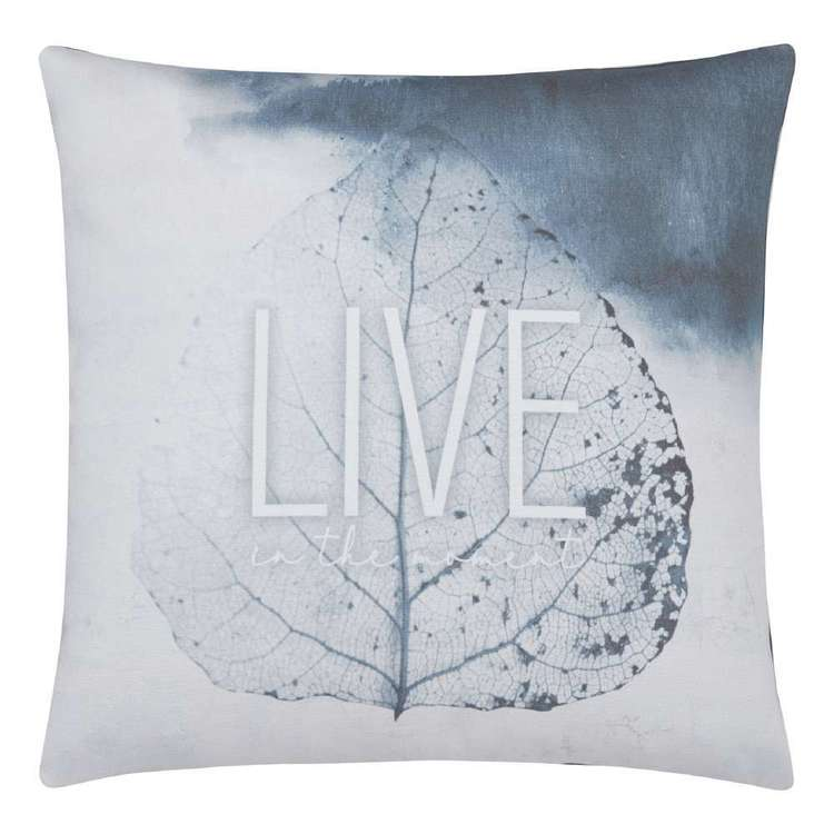 Bouclair Naturalistic Living Live Leaf Cushion