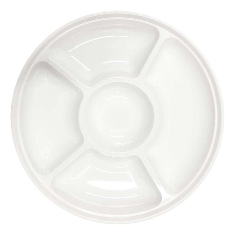 Party Creator Plastic Round Platter 2 Pack