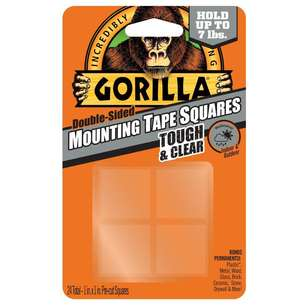 Gorilla Glue Mounting Tape Squares 24 Pack