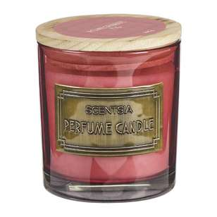 Scentsia Eclectic Treasures Pomegranate Fig Single Wick Candle Jar
