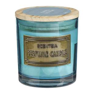 Scentsia Eclectic Treasures Bluebell Blossom Single Wick Candle Jar