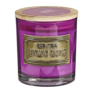 Scentsia Eclectic Treasures Lavender Woods Single Wick Candle Jar