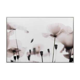 Bouclair Purely Pastel Poppies Wall Art