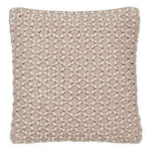 Bouclair Purely Pastel Macrame Cushion