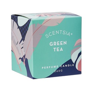 Scentsia Bohemian Gypsy Green Tea Scented Candle