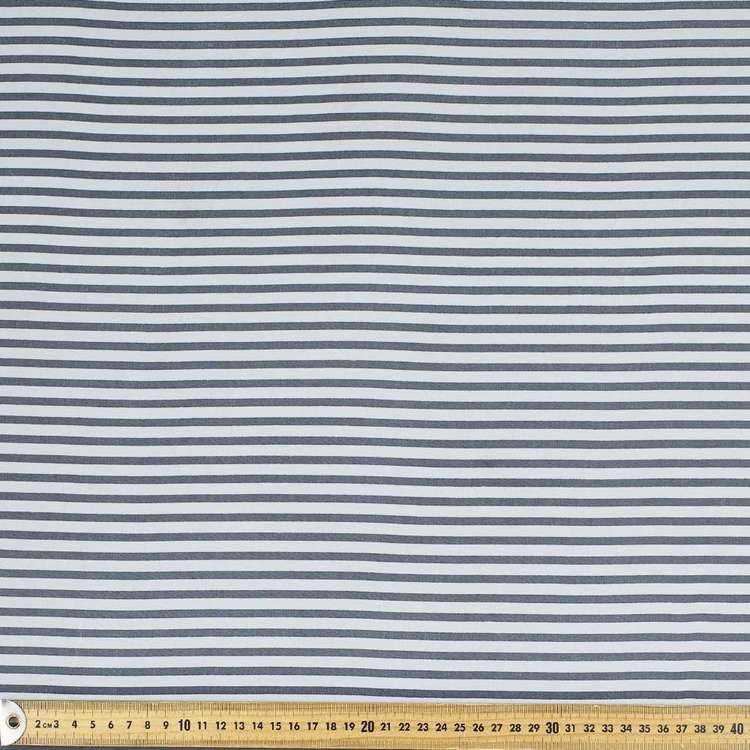 Printed Chiffon Stripe 148cm Fabric
