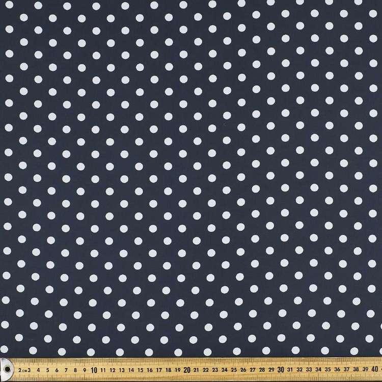 Printed Chiffon Dot 148cm Fabric