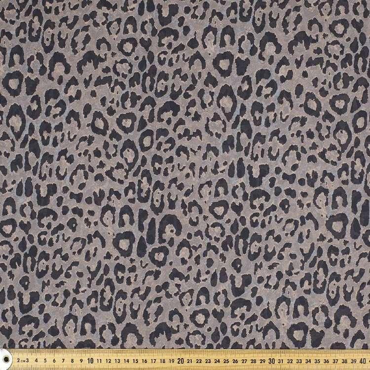 Printed Chiffon Leopard 148cm Fabric