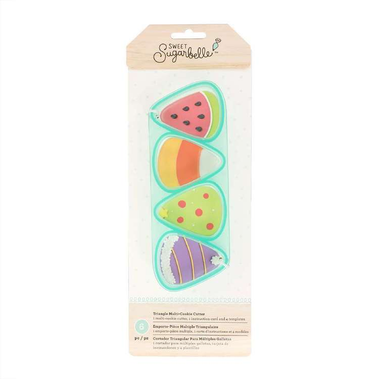 American Crafts Sweet Sugarbelle Triangle Multi Cookie Cutter