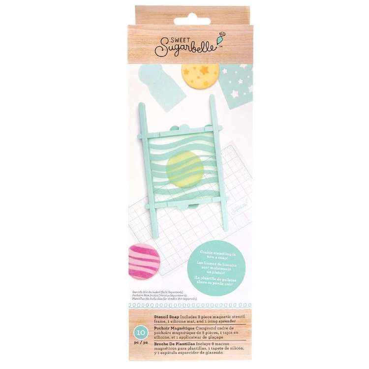 American Crafts Sweet Sugarbelle Stencil Snap Frame