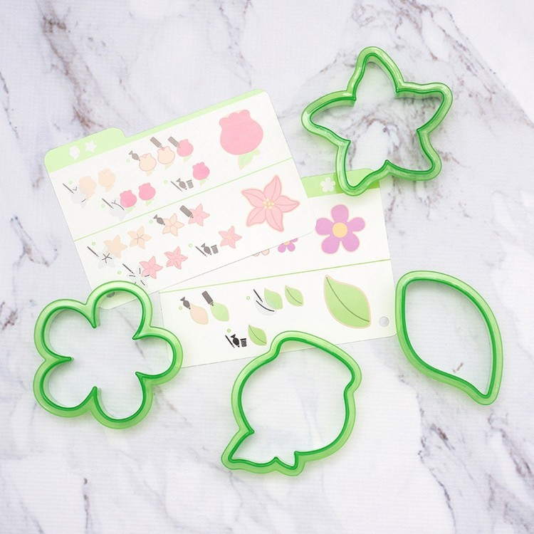 American Crafts Sweet Sugarbelle Spring Cookie Cutter Set Multicoloured