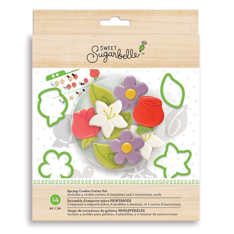 American Crafts Sweet Sugarbelle Spring Cookie Cutter Set