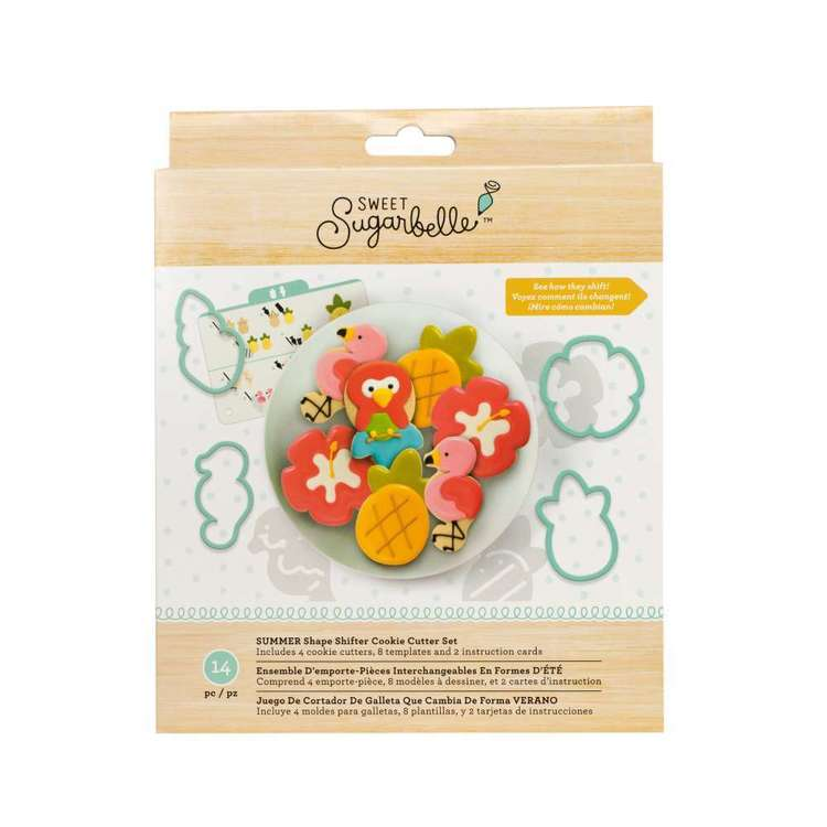 American Crafts Sweet Sugarbelle Summer Cookie Cutter Set