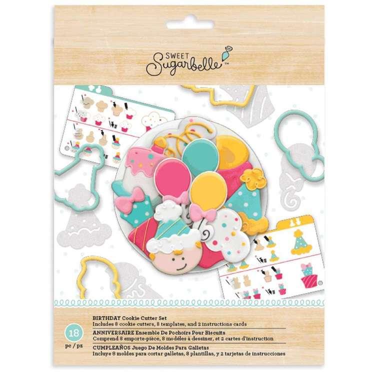 American Crafts Sweet Sugarbelle Birthday Cookie Cutter Set