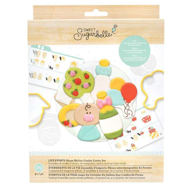 American Crafts Sweet Sugarbelle Life Events Cookie Cutter Set