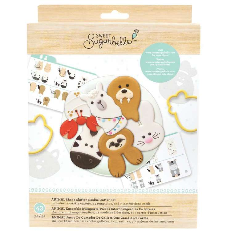American Crafts Sweet Sugarbelle Animal Shape Shifter Set