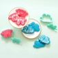 American Crafts Sweet Sugarbelle Words Stamp & Cutter Set Multicoloured