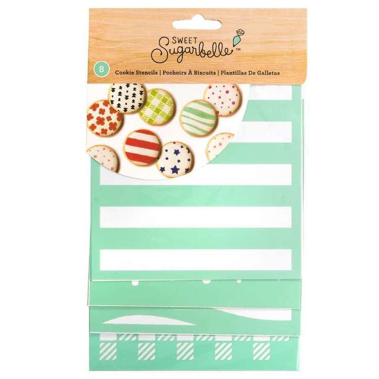 American Crafts Sweet Sugarbelle Cookie Stencils 8 Pack