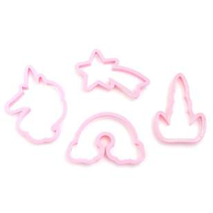 American Crafts Sweet Tooth Fairy Unicorn Cookie Cutter Set