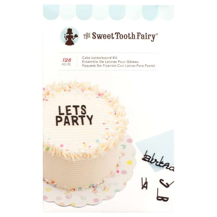 American Crafts Sweet Tooth Fairy Cake Letterboard Kit