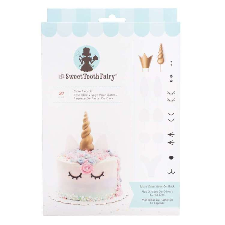 American Crafts Sweet Tooth Fairy Cake Face Kit