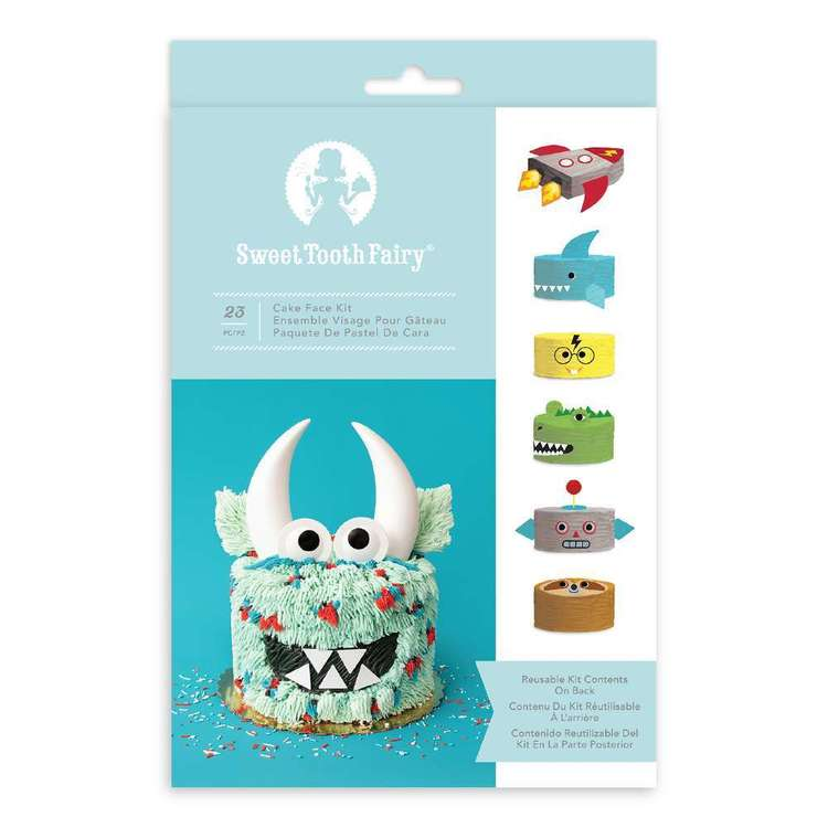 American Crafts Sweet Tooth Fairy Boy Cake Face Kit